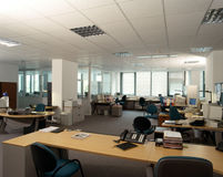εργασία θέσεων γραφείων Στοκ εικόνες με δικαίωμα ελεύθερης χρήσης