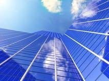 εργασία θέσεων επιχειρησιακών γραφείων κτηρίου διαμερισμάτων διανυσματική απεικόνιση