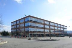 εργασία θέσεων επιχειρησιακών γραφείων κτηρίου διαμερισμάτων στοκ εικόνες