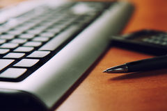 εργασία θέσεων πληκτρο&lambda Στοκ εικόνα με δικαίωμα ελεύθερης χρήσης