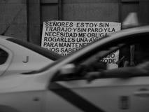 Εργασία και άστεγοι Στοκ Φωτογραφίες