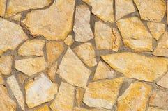 Εργασία λίθων για τον τοίχο, τυχαία λίθος-εργασία Στοκ φωτογραφία με δικαίωμα ελεύθερης χρήσης