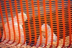Εργασία με τα επικίνδυνα και επικίνδυνα υλικά Στοκ Φωτογραφίες