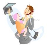 εργασία μητέρων μωρών στοκ φωτογραφία με δικαίωμα ελεύθερης χρήσης