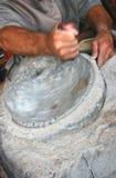 εργασία μύλων χεριών Στοκ φωτογραφία με δικαίωμα ελεύθερης χρήσης