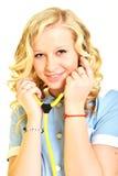 Εργασία νοσοκόμων γυναικών Στοκ φωτογραφίες με δικαίωμα ελεύθερης χρήσης