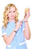 Εργασία νοσοκόμων γυναικών Στοκ Εικόνες