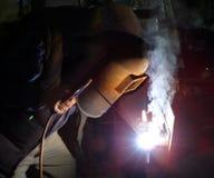 εργασία οξυγονοκολλητών στοκ φωτογραφίες