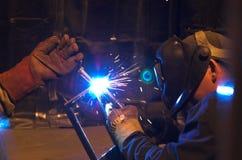 εργασία οξυγονοκολλητών Στοκ εικόνες με δικαίωμα ελεύθερης χρήσης
