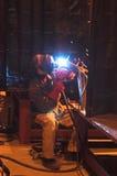 εργασία οξυγονοκολλητών στοκ εικόνες