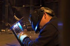 εργασία οξυγονοκολλητών στοκ φωτογραφία