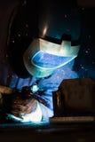 εργασία οξυγονοκολλητών Στοκ φωτογραφίες με δικαίωμα ελεύθερης χρήσης