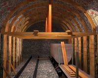 εργασία ορυχείων Στοκ Φωτογραφία