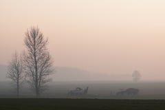εργασία πεδίων αγροτών Στοκ φωτογραφίες με δικαίωμα ελεύθερης χρήσης