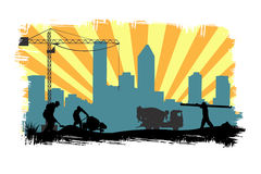 εργασία περιοχών ελεύθερη απεικόνιση δικαιώματος