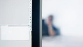 Εργασία προσώπων υποβάθρου γραφείων Στοκ Εικόνες