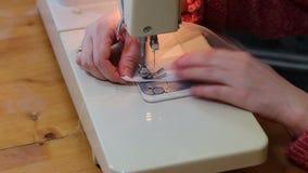 Εργασία ραφτών. απόθεμα βίντεο