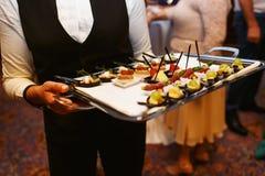 Εργασία σερβιτόρων Στοκ Εικόνα