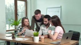 Εργασία στην ομάδα απόθεμα βίντεο