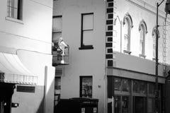 Εργασία στην πόλη στοκ φωτογραφίες