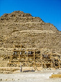 Εργασία στις πυραμίδες Στοκ Φωτογραφία