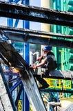 Εργασία στο ύψος στοκ φωτογραφίες με δικαίωμα ελεύθερης χρήσης