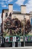 Εργασία τέχνης για την πρόσοψη του μπαρ εργαστηρίων Gastro, Δουβλίνο Ιρλανδία Στοκ φωτογραφία με δικαίωμα ελεύθερης χρήσης