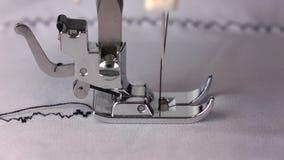 Εργασία της ράβοντας μηχανής, πλάγια όψη κίνηση αργή απόθεμα βίντεο