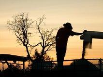 Εργασία της Farmer Στοκ εικόνες με δικαίωμα ελεύθερης χρήσης