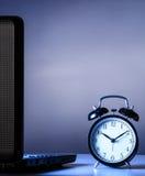 Εργασία τη νύχτα Στοκ εικόνα με δικαίωμα ελεύθερης χρήσης