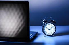 Εργασία τη νύχτα Στοκ εικόνες με δικαίωμα ελεύθερης χρήσης