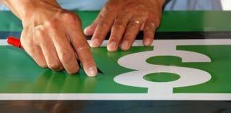 εργασία χεριών Στοκ εικόνα με δικαίωμα ελεύθερης χρήσης