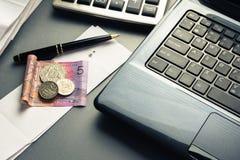 Εργασία χρηματοδότησης Στοκ εικόνα με δικαίωμα ελεύθερης χρήσης