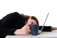 εργασία ύπνου στοκ εικόνα με δικαίωμα ελεύθερης χρήσης