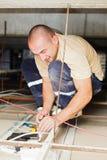 Εργασία Spacialist ηλεκτρικής ενέργειας στοκ φωτογραφία με δικαίωμα ελεύθερης χρήσης