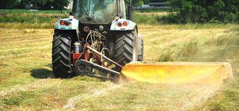 εργασίες γεωργίας Στοκ Εικόνα