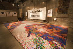Εργασίες κύβων - το χέρι του Θεού Στοκ εικόνες με δικαίωμα ελεύθερης χρήσης