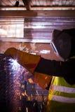 Εργασίες οξυγονοκολλητών Στοκ Φωτογραφίες