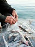 Εργασίες ψαράδων Στοκ φωτογραφία με δικαίωμα ελεύθερης χρήσης