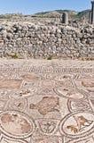 εργασίες volubilis του Μαρόκου σπιτιών Hercules Στοκ εικόνα με δικαίωμα ελεύθερης χρήσης