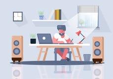Εργασιακός χώρος ατόμων επιχειρησιακών γραφείων ελεύθερη απεικόνιση δικαιώματος