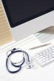 εργασιακός χώρος γιατρών στοκ φωτογραφία με δικαίωμα ελεύθερης χρήσης