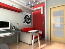 εργασιακός χώρος γραφεί&o Στοκ Εικόνα