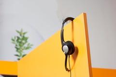 Εργασιακός χώρος τηλεφωνικών κέντρων Στοκ Φωτογραφίες
