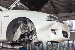 Εργαστήριο αυτοκινήτων Στοκ Εικόνες