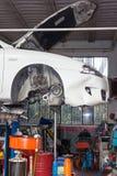 Εργαστήριο αυτοκινήτων Στοκ Εικόνα