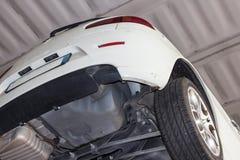 Εργαστήριο αυτοκινήτων Στοκ εικόνα με δικαίωμα ελεύθερης χρήσης