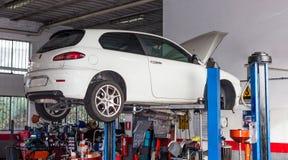 Εργαστήριο αυτοκινήτων Στοκ φωτογραφίες με δικαίωμα ελεύθερης χρήσης