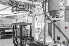 Εργαστήριο για την παραγωγή του πολυαιθυλενίου Στοκ Εικόνες