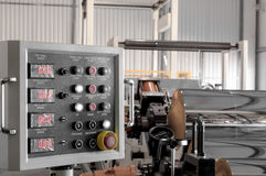 Εργαστήριο για την παραγωγή του πολυπροπυλενίου και του πολυαιθυλενίου Στοκ Φωτογραφίες